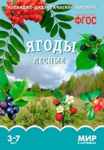 Купить Ягоды лесные. Наглядно-дидактическое пособие для занятий с детьми 3-7 лет в Москве по недорогой цене