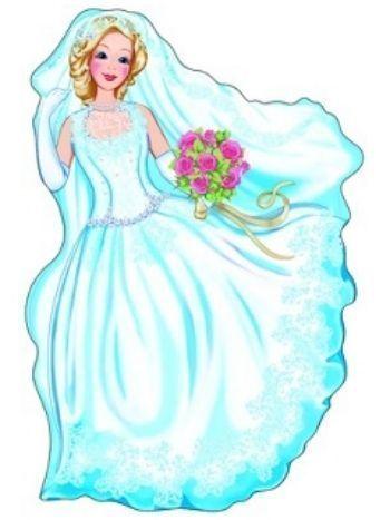 """Купить Плакат вырубной """"Невеста"""" в Москве по недорогой цене"""
