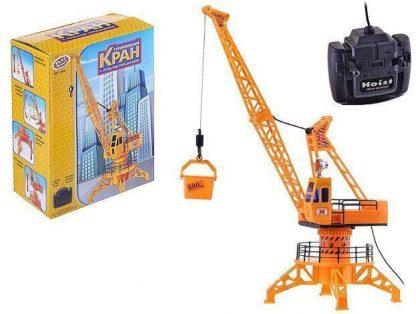 Купить Кран строительный на дистанционном управлении в Москве по недорогой цене