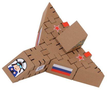 """Купить Конструктор из картона """"Йохокуб. Самолет"""" в Москве по недорогой цене"""