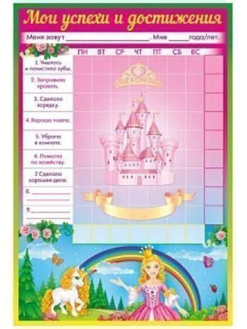 """Купить Плакат-мотиватор """"Для маленьких принцесс"""" в Москве по недорогой цене"""