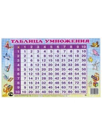Купить Таблица умножения перекрестная в Москве по недорогой цене