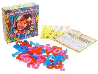 Купить Логика и цифры. Учебно-игровое пособие для детей от 4-х лет в Москве по недорогой цене