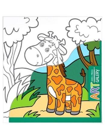 Купить Жираф. Основа для творчества малая. Арт-галерея в Москве по недорогой цене