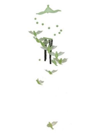 Купить Музыка ветра. 4 трубочки и 11 фосфорных птичек в Москве по недорогой цене