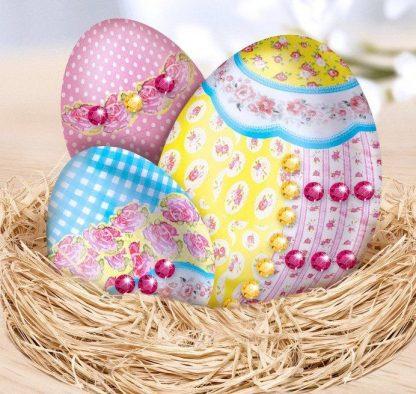 Купить Набор для декупажа пасхальных яиц №6 в Москве по недорогой цене