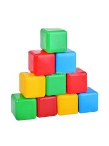 Купить Кубики цветные