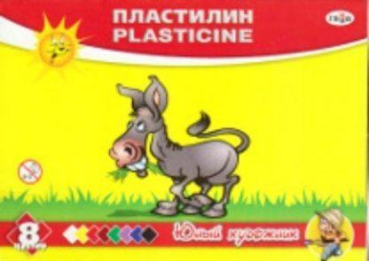"""Купить Пластилин """"Юный художник"""". 8 цветов в Москве по недорогой цене"""
