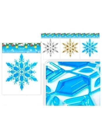 """Купить Новогодняя наклейка """"Снежинка"""""""