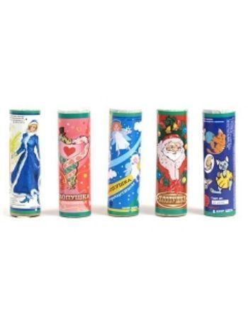 Купить Хлопушка новогодняя с серпантином в Москве по недорогой цене