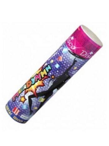 Купить Хлопушка нвоогодняя с разноцветным конфетти в Москве по недорогой цене