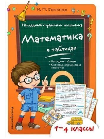 Купить Математика в таблицах. 1-4 классы. Наглядный справочник школьника в Москве по недорогой цене