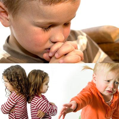 Как научить наших детей просить прощения?